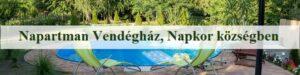Napartman Vendéghaz Napko -községben